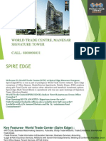 WTC SPIRE EDGE MANESAR GURGAON