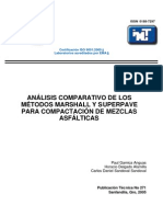 Analisis Marshall vs Superpave