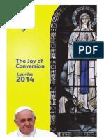 Archdiocese of Birminghma Lourdes Pilgrimage Booklet 2014