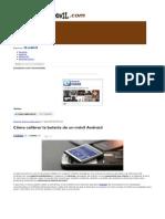 Cómo Calibrar La Batería de Un Móvil Android - Tuexpertomovil.com-1