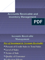 Account Receivable and Inventory Management