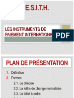 5 Instruments de Paiement a l'International