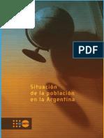 Argentina Situacion de La Poblacion en La Argentina