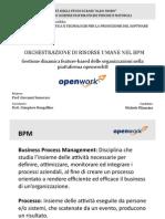 Orchestrazione di risorse umane nel BPM [slides]