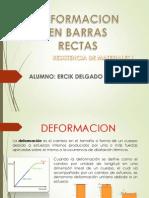 Deformacion de Una Barra