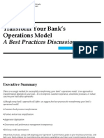 Strategyand Transform Your Banks Operations Model