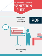 """KNOWLEDGE SUPPORT  """"Planning, Design and Optimising A Presentation Slide"""""""
