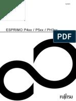FTS ESPRIMOP4xxP5xxPH3xxOperatingManual 320130313 1091217