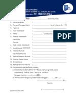 Formulir Pendaftaran Pelatihan Osp Ksm 2014