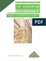 Instalacion de Escalera de Tramos