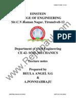 CE2251 Soil Mechanics Notes