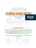 Stopping Power Meter