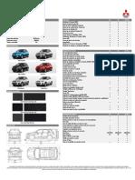 Ficha Técnica Mitsubishi ASX 2014MY