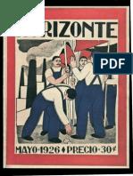 Horizonte - Mayo 1926