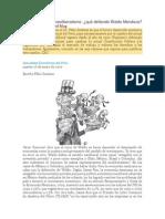 Critica a Waldo Mendoza y Duncourt Por Felix Jimenez