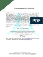 Atestado de Capacidade Técnico - Cr - 0092013