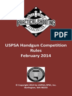 Feb 2014 USPSA Handgun Rules