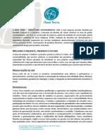 A NAVE TERRA - Portfolio 2013 - Setembro