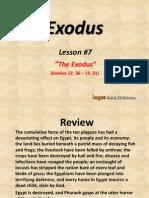 7. the Exodus