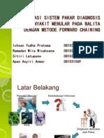 Aplikasi Sistem Pakar Diagnosis Penyakit