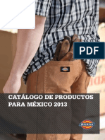 Dickies Mexico Catalogo 2013