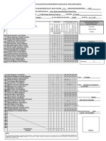 Registro de Evaluacion Del Rendimiento Escolar de Educación Básica 2013