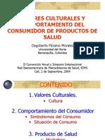 Valores Culturales y C Consumidor