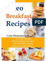 Paleo Breakfast Recipes - Fast and Fantastic Paleo Cookbook Recipes for the Whole