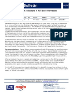 Fall-Impact Indicators in Full Body Harnesses Technical Bulletin