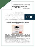 Estado Del Arte de Soporte Ascensor Motorizado Para Proyector Tttt