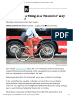 Is There Such a Thing as a 'Masculine' Way to Ride a Bike_ - CityLab