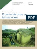 Control Olores de Letrinas Rurales