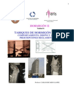 Tabiques de Hormigón Armado Comportamiento, Diseño y Análisis. Prescripciones Reglamentarias