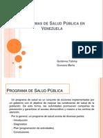 Programas de Salud Pc3bablica en Venezuela Marta Guevara y Fc3a1tima Gutierrez (1)