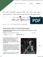 Shoaib Akhtar to Marry 17-Year-Old_ Media Reports _ Cricket - News _ NDTVSports