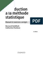 Goldfarb B. Introduction a La Methode Statistique
