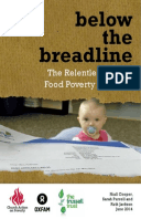 Below the Breadline: The relentless rise of food poverty in Britain