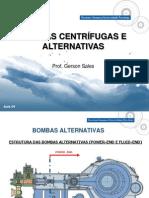 Aula 4 - Bombas Cetrífugas e Alternativas