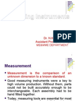 Measuring Instruments Lecture