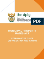 Legislative Acts - MPRA - Step by Step Guide on Valuation and Rating