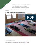 Top 5 Yoga Posses