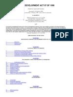 Legislative Acts - Skills Development Act No. 97 of 1998