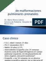 Manejo de Malformaciones Pulmonares Prenatales