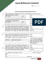 Wage Elements Declaration 10-11