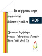 PRADAX Pigmento Negro