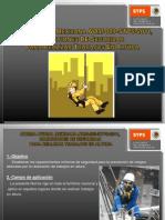 NOM-009-STPS-2011 Condiciones de Seguridad en Trabajos en Altura Presentación