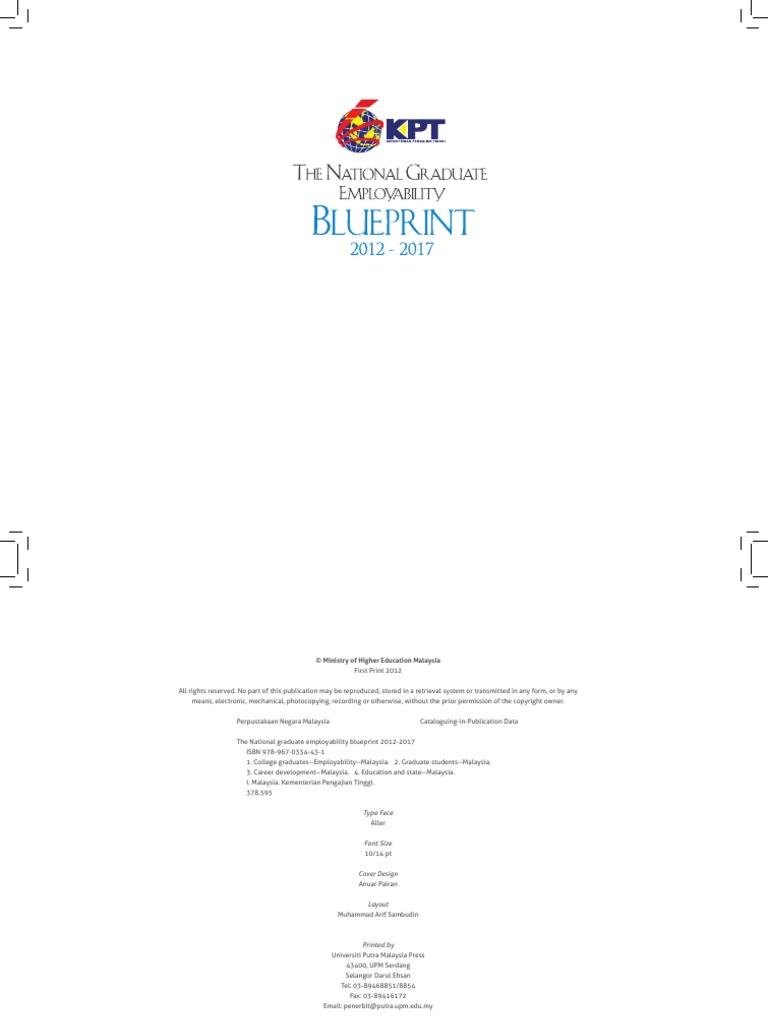 National graduate employability blueprint 2012 2017 employment national graduate employability blueprint 2012 2017 employment higher education malvernweather Choice Image