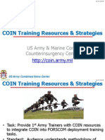 1st Army - COIN Training Resources & Strategies