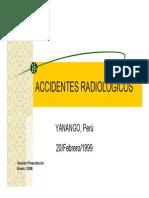 11-Accidentes Radiológicos - Yanango, Perú