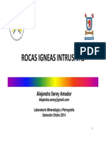 6 Rocas Igneas Intrusivas
